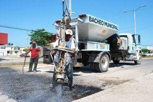 Bacheo municipal