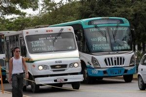 aumento transporte
