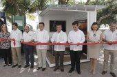 Inauguran modulo de información turística de Cozumel en Solidaridad