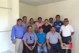 Reunión de trabajo de Rosa Adriana con alcaldes electos