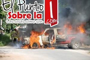 incendia vehiculo iqm