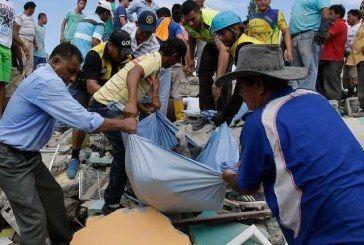Terremoto de 7,8 en la zona costera de Ecuador deja al menos 233 muertos