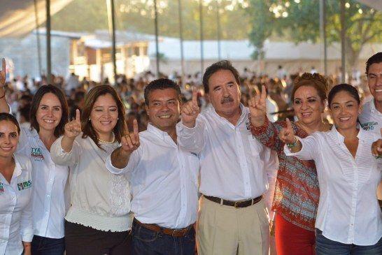 Senadores del PRI y Verde, respaldan a Mauricio Góngora