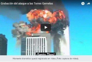 Aparece en YouTube video inédito de atentado contra Torres Gemelas | VIDEO