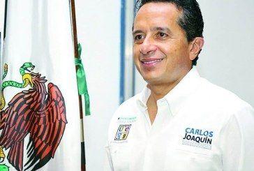 Carlos Joaquín revelará a su equipo de transición