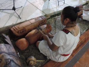 evento artistico y cultural en el jardin del arte Museo  Santa Cruz Xbalan Nah (5)